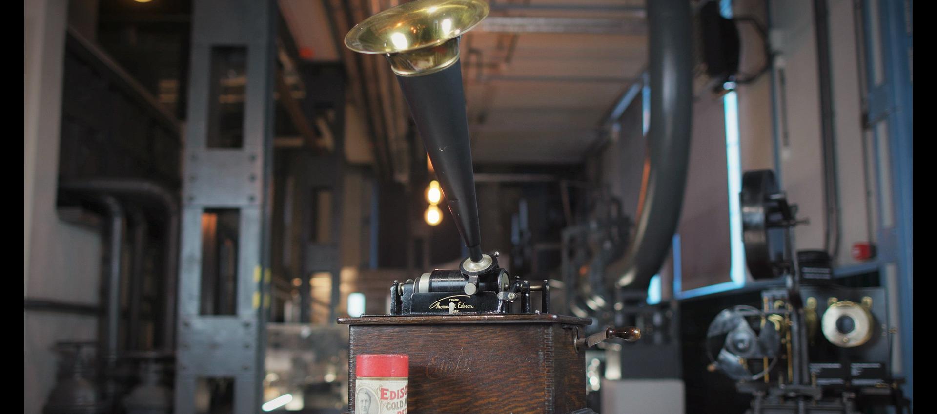 Fonograf i kalejdoskop
